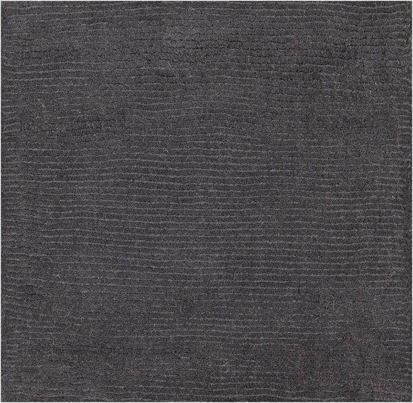 Surya Mystique Charcoal Wool Sample Area Rug 18 x 18 M341-1616