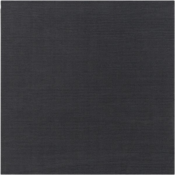 Mystique Contemporary Charcoal Wool Square Area Rug (L 96 X W 96) M341-8SQ