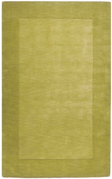 Mystique Contemporary Lime Fabric Hand Woven Area Rug (L 96 X W 60) M346-58