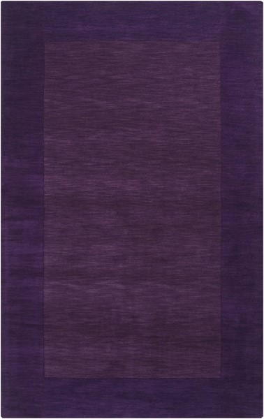 Surya Mystique Violet Dark Purple Wool Area Rug 96 x 60 M349-58