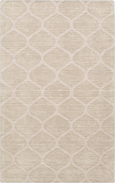 Mystique Contemporary Ivory Fabric Hand Woven Area Rug M5107-58