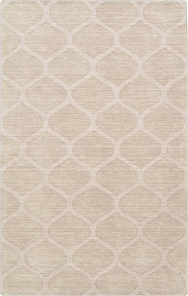 Surya Mystique Cream Wool Area Rug 108 x 72 M5107-69