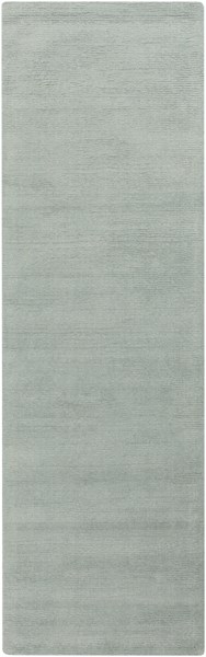 Mystique Contemporary Mint Fabric Hand Woven Runner (L 96 X W 30) M5328-268