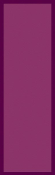Mystique Contemporary Magenta Wool Hand Woven Runner (L 96 X W 30) M5373-268
