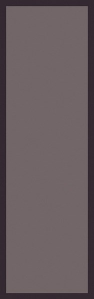 Mystique Contemporary Taupe Chocolate Wool Runner (L 96 X W 30) M5378-268