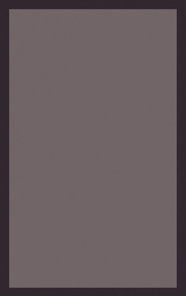 Mystique Contemporary Taupe Chocolate Wool Area Rug (L 96 X W 60) M5378-58