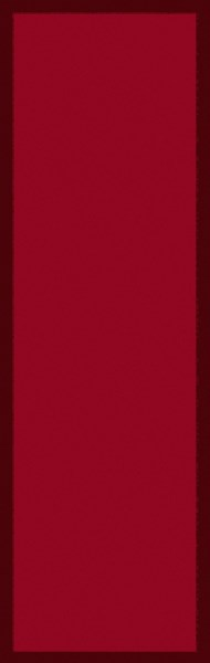 Mystique Contemporary Cherry Burgundy Wool Runner (L 96 X W 30) M5379-268