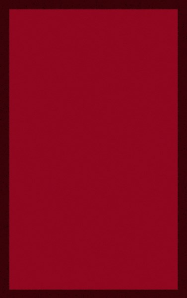 Mystique Contemporary Cherry Burgundy Wool Area Rug (L 96 X W 60) M5379-58