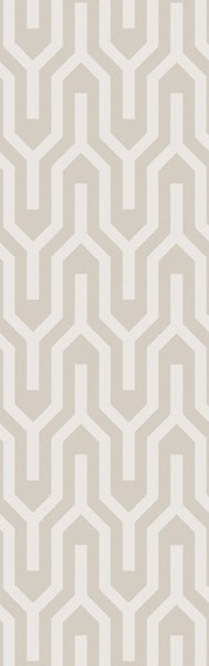 Mystique Contemporary Ivory Wool Geometric Runner (L 96 X W 30) M5385-268