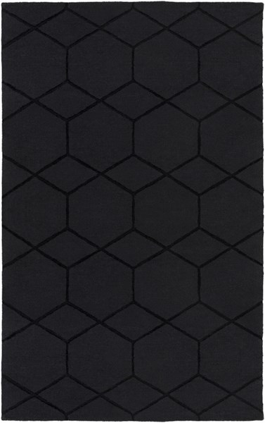 Mystique Charcoal Wool Rug Pad Recommended Area Rug (L 96 X W 60) M5431-58