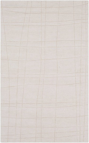 Surya Mystique Cream Shag Area Rug 36 x 24 M5451-23