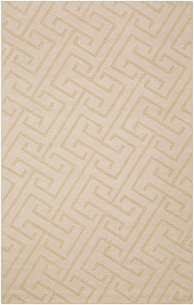 Surya Mystique Cream Hand Made Area Rug 63 x 39 M5452-3353