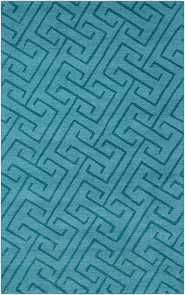 Surya Mystique Emerald Hand Made Area Rug 36 x 24 M5453-23