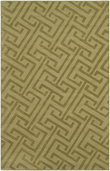 Surya Mystique Olive Hand Made Area Rug 96 x 60 M5454-58