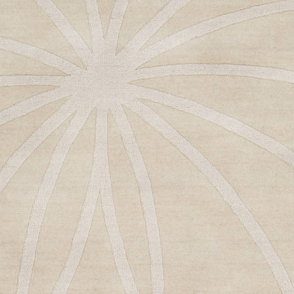 Surya Mystique Khaki Wool Geometric Sample Area Rug 18 x 18 M5459-1616