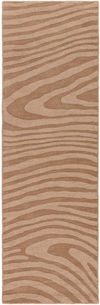 Surya Mystique Camel Wool Abstract Runner 96 x 30 M5465-268