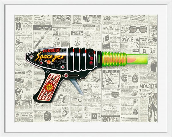 Surya Eternal Paper Ray Gun I Wall Art - 28x23 MA100A001-2823