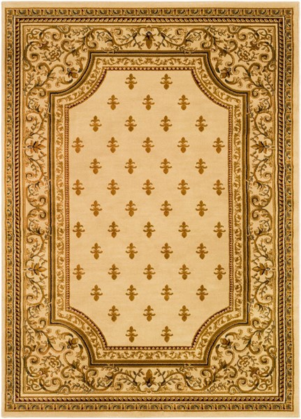 Surya Marash Khaki Tan Dark Brown Polypropylene Area Rug 150 x 111 MAH4604-93126