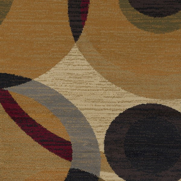 Surya Marash Burnt Orange Tan Khaki Polypropylene Sample Area Rug 18 x 18 MAH4614-1616
