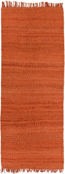 Maui Contemporary Rust Fabric Hand Woven Runner MAU3003-268