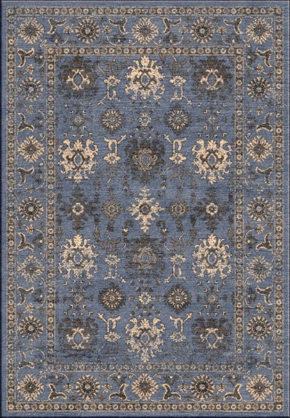 Surya Mavrick Navy Beige Taupe Machine Made Area Rug 90 x 63 MAV7012-5478