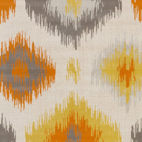 Surya Mavrick Ivory Light Gray Bright Orange Sample Persian Area Rug 18 x 18 MAV7033-1616