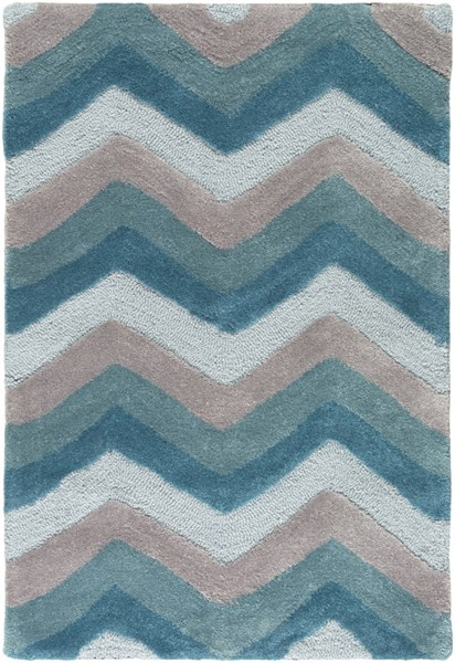Mamba Contemporary Slate Moss Taupe Polyester Area Rug (L 36 X W 24) MBA9034-23