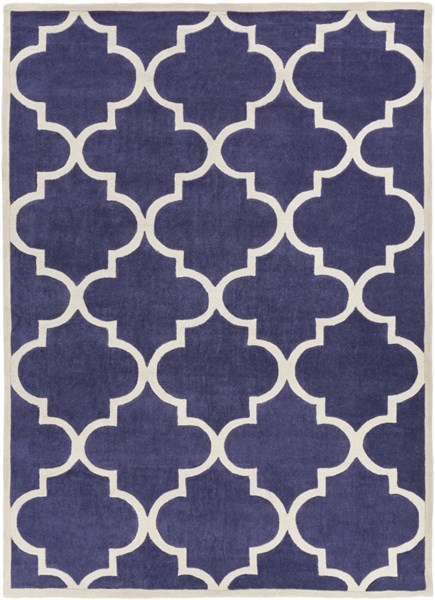 Mamba Contemporary Iris Light Gray Polyester Area Rug MBA9067-811