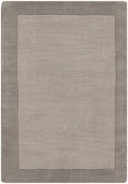 Madison Square Contemporary Charcoal Light Gray Black Wool Rugs 554-VAR1