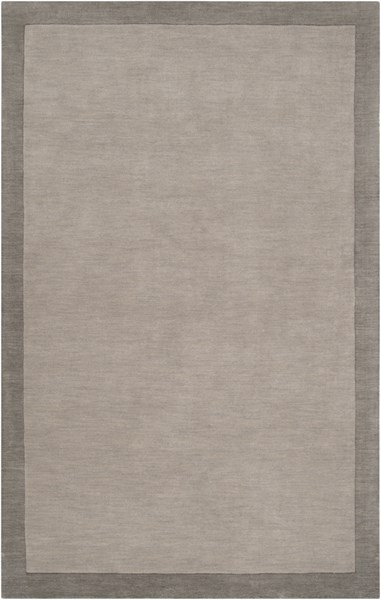 Madison Square Charcoal Light Gray Wool Area Rug (L 90 X W 60) MDS1000-576