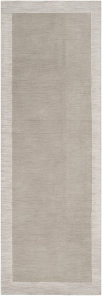 Madison Square Light Gray Ivory Wool Runner (L 96 X W 30) MDS1001-268