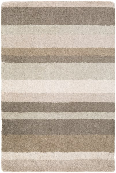 Madison Square Light Gray Ivory Wool Area Rug (L 36 X W 24) MDS1010-23