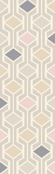 Melody Modern Ivory Gray Olive Wool Area Rug (L 96 X W 30) MDY2000-268