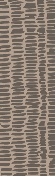 Melody Modern Gray Charcoal Olive Wool Area Rug (L 96 X W 30) MDY2002-268