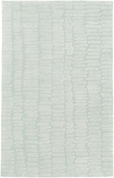Melody Modern Moss Ivory Olive Wool Area Rug (L 90 X W 60) MDY2003-576