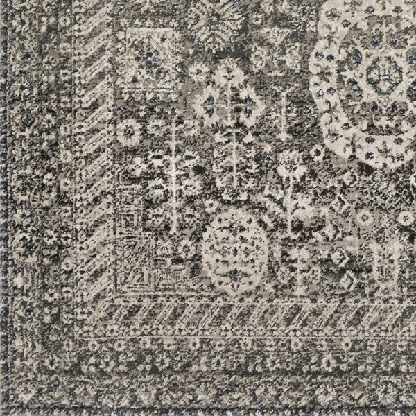 Surya Mesopotamia Camel Black Ivory Sample Area Rug 18 x 18 MEP2303-1616