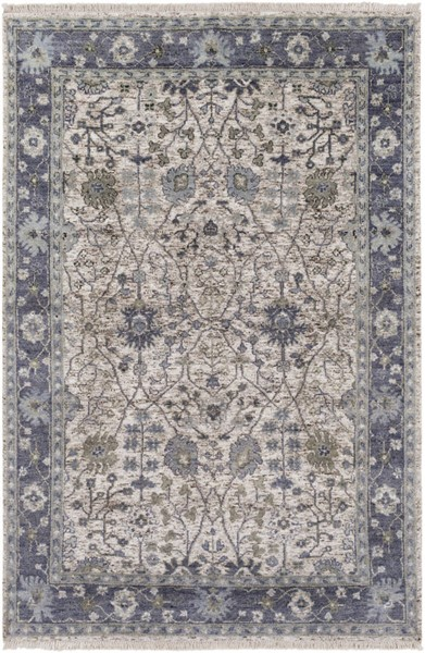 Surya Maeva Navy Sea Foam Dark Brown Wool Viscose Rugs MEV2003-RUG-VAR