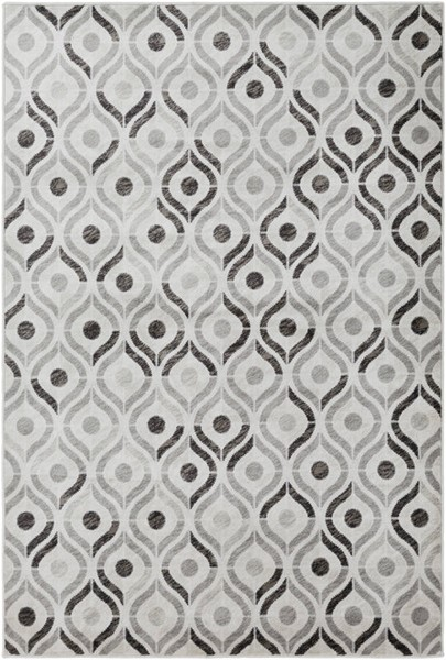Surya Mahadayi Dark Brown Khaki Light Gray Polypropylene Rugs MHI4101-RUG-VAR