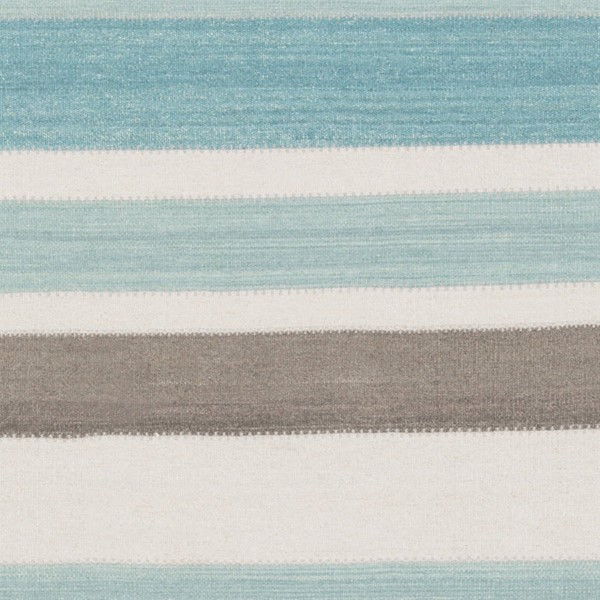 Surya Miguel Aqua Charcoal Light Gray Sample Area Rug 18 x 18 MIG5000-1616