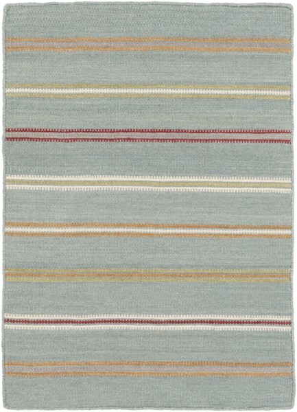Miguel Burgundy Olive Gray Wool Cotton Area Rug (L 36 X W 24) MIG5008-23