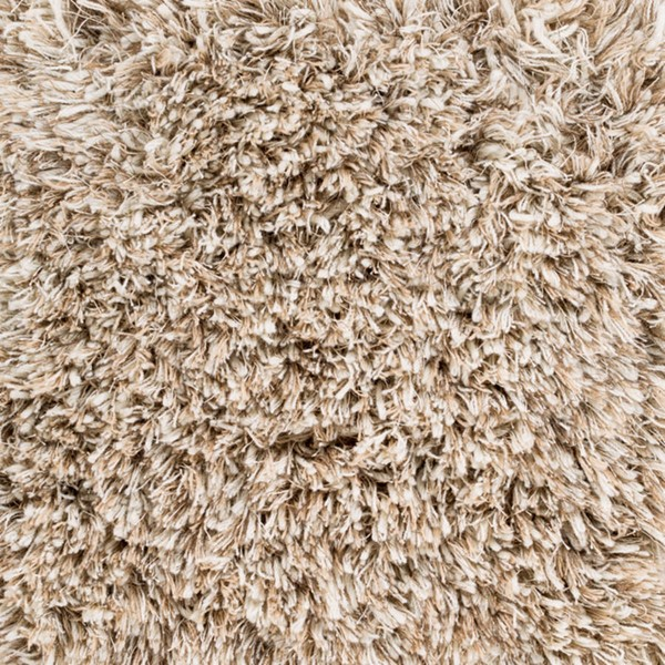 Surya Milan Cream Wheat Taupe NZ Wool Sample Area Rug 18 x 18 MIL5001-1616