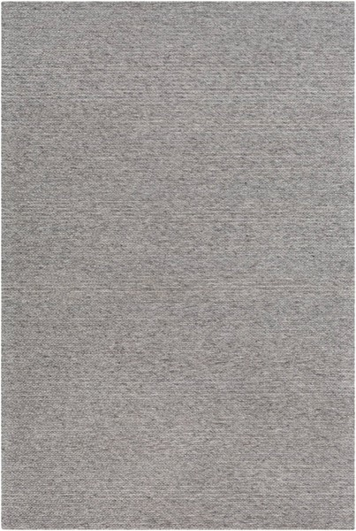 Surya Marlowe Medium Gray Black Wool Viscose Area Rug 36 x 24 MLE1000-23