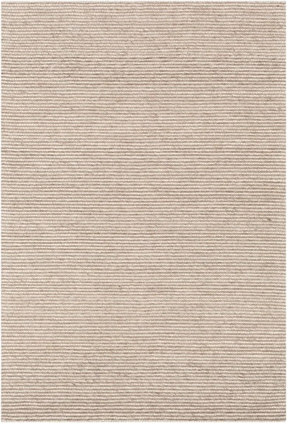 Surya Marlowe Dark Brown Light Gray Wool Viscose Area Rug 36 x 24 MLE1003-23