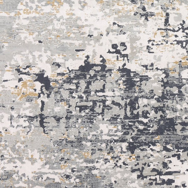 Surya Milano Light Gray Tan White Viscose Sample Area Rug 18 x 18 MLN2301-1616