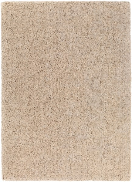 Mellow Beige Polyester Area Rug - 96 x 132 MLW9000-811