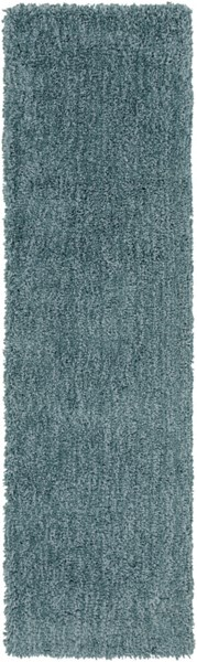 Mellow Contemporary Teal Polyester Runner MLW9014-238