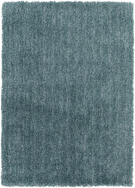 Mellow Contemporary Teal Polyester Hand Woven Area Rug MLW9014-57