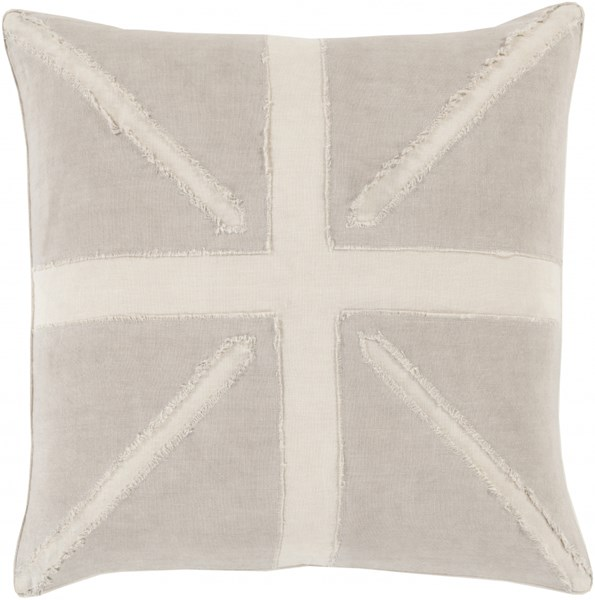 Manchester Olive Beige Poly Linen Throw Pillow (L 22 X W 22 X H 5) MN003-2222P