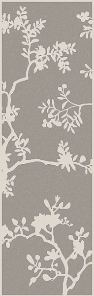 Manor Contemporary Ivory Light Gray Olive Wool Viscose Rugs 2042-VAR1