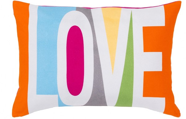 Love Pillow with Down Fill - Love - 13 x 19 x 4 13557-VAR1
